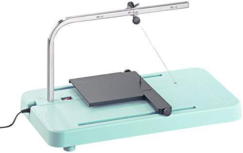 AGT Styroporschneider: Heißdraht-Schneidegerät für Styropor & Schaum, mit Winkeleinstellung (Styrocutter)