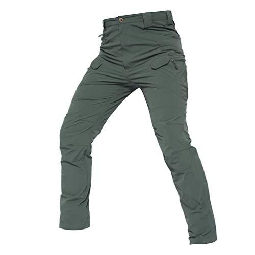 YuanDian Hombre Militar Tactico Secado Rápido Stretch Pantalon...
