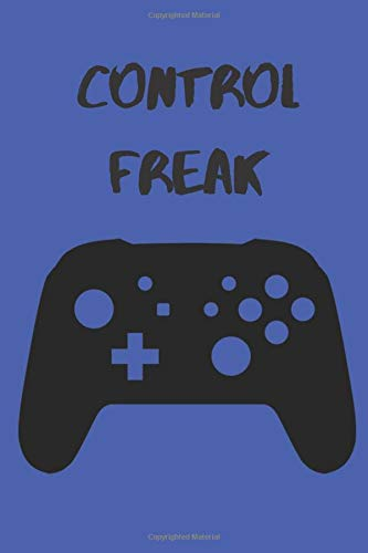 Control Freak Gamer's Composition Notebook/Gift for Gamers/6x9' Paperback Journal With 100 Lined Pages