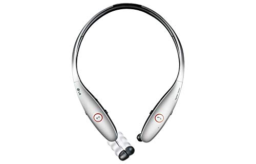LG Electronics Tone HBS-900 INFINIM Bluetooth Stereo Headset - Silver (Renewed)