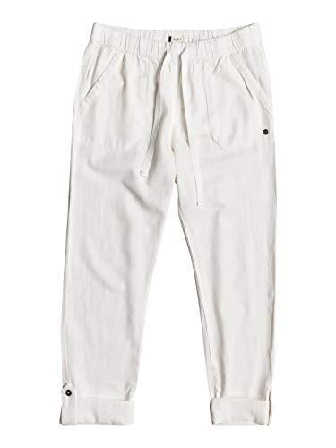 Roxy On The Seashore Damesbroek, elastische linnen broek voor vrouwen, non-denim Pants