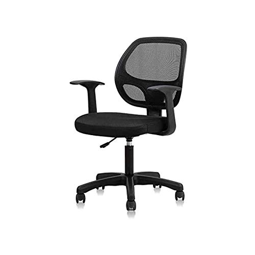 WSDSX Home Office Chair, Desk Chair Mid-Back Mesh Computer Chair with Lumbar Support Swivel Rolling Chair