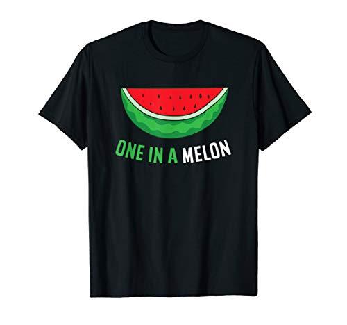 Sommer Wassermelone Melone Einer Aus Einer Melone T-Shirt