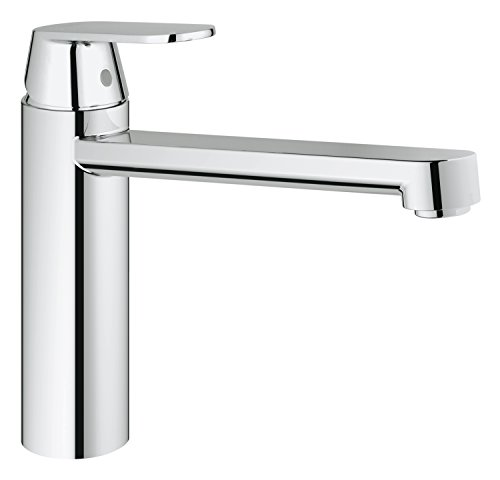 Grohe Eurosmart Cosmopolitan 30194000 Kitchen Sink Tap With Mid Level Spout For Low Pressure Water Heater Twandachristian333