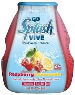 Go Splash Vive Liquid Water Enhancer Raspberry Lemonade (3 Pack)