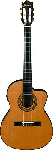 IBANEZ Konzertgitarre mit Cutaway 6 String - Amber High Gloss (GA5TCE-AM)