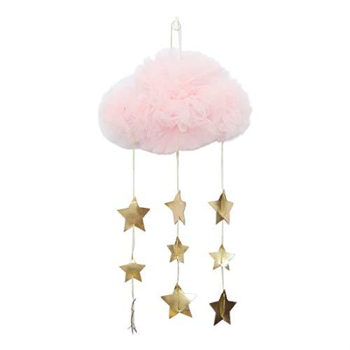 CarJTY Ciel de lit Moustiquaire,Ciel de Lit Princesse Moustiquaire Dôme Polyester,Décoration pour Chambre Bébé ou Enfant