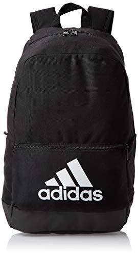 adidas CLAS BP BOS Sports Backpack, Black/Black/White, 46 cm