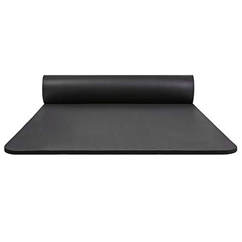 YNAYG Yoga Mat Yoga Mat 185 80cm Training Mat Exercise Mat Non-Slip Pilates Mat Lightweight, Durable, Skin-Friendly 10mm with Strap with Storage Case Nitrile Rubber 3 Colors