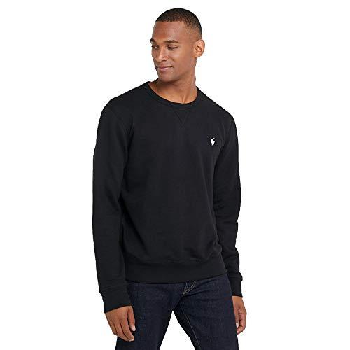 Polo Ralph Lauren Sweatshirt mit Rundhalsausschnitt (L, Polo Black)