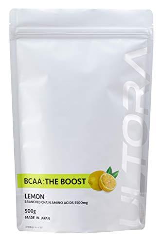 BCAA ザ・ブースト レモン風味 500g 国産 ULTORA ウルトラ