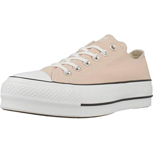 """Converse - Sneakers""""Chuck Taylor All Star"""" da donna, colore e numero selezionabili, Beige (Beige Particle Beige White Black 000), 35 EU"""