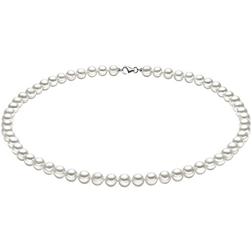 Collana Di Perle In Oro 18 Carati Da Donna Di Comete elegante cod. FWQ 102 S