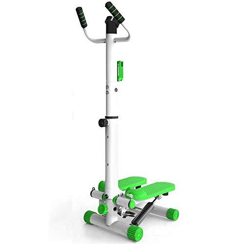 ZTKBG Trainingsgeräte Übung Fitness Heim Stepper mit Armlehnen Weight Loss Mountain Bike Gewicht Multi-Functional Fitness Equipment