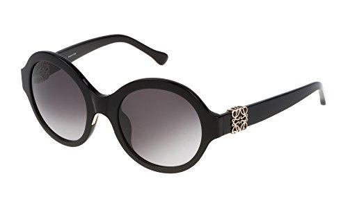 Loewe SLW934M520700 Gafas de Sol, Shiny Black, 52 para Mujer