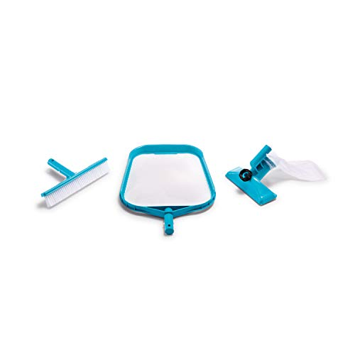 Intex Basic Reinigungsset für Pools Basic Kit One Size blau