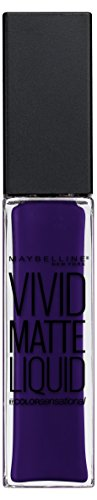 Maybelline New York Vivid Matte Liquid Lippenstift 48 Wicked Berry, 1er Pack (1 x 8 ml)