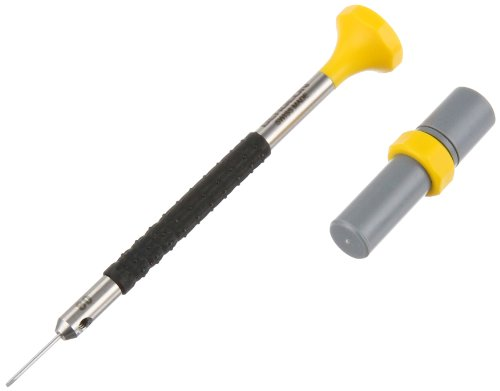 Bergeon 55-682 6899-AT-080 Stainless Steel Ergonomic 0.80mm Screwdriver with Spare Blades Watch Repair Kit