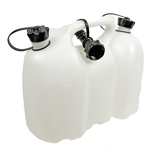 Oregon 562406 Professional Combi-Can, Transparent, 6 Litres Fuel and 3 Litres Oil