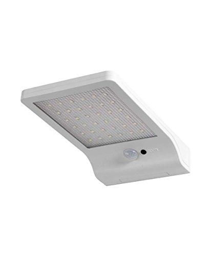 Osram LED Doorled Solar Batteriebetriebene Leuchte, für Außenanwendungen, Kaltweiß, integrierter Bewegungssensor SolarPanel