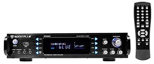 Rockville RPA60BT 1000 Watt Home Theater Receiver w/Bluetooth/Tuner/USB/Mixer