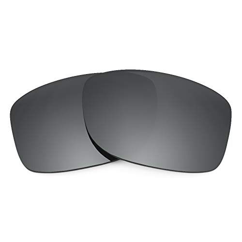 Revant Replacement Lenses for Oakley Jupiter Squared, Polarized, Negro Cromado MirrorShield