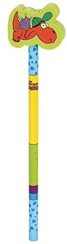 Der kleine Drache Kokosnuss Bleistift mit Radiergummi