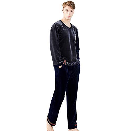 Yiren Comfortable Sol Pijama De Terciopelo Pieza De