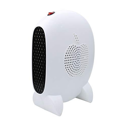 Stufa Elettrica Riscaldamento Portatile Mini Stufa Stufetta Elettrica Riscaldatore portatile Stove Handy Heater riscaldatore Termostato -Rosso