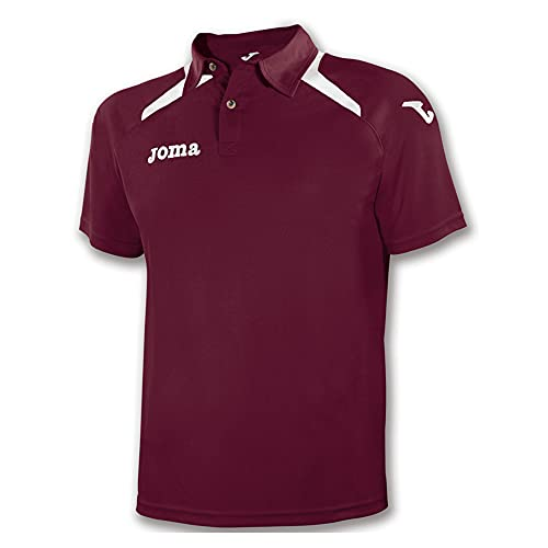 Joma 1007S12.65 Polo Sportswear, Burgundy, FR Ans (Taille Fabricant : 12)