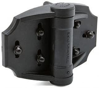Tru Close Multi Adjust Hinge Set - Black - for Wood and Vinyl Gates