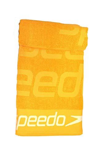 Speedo Easy Towel Large 90x170 Handtuch, Unisex für Erwachsene Einheitsgröße Safrangelb
