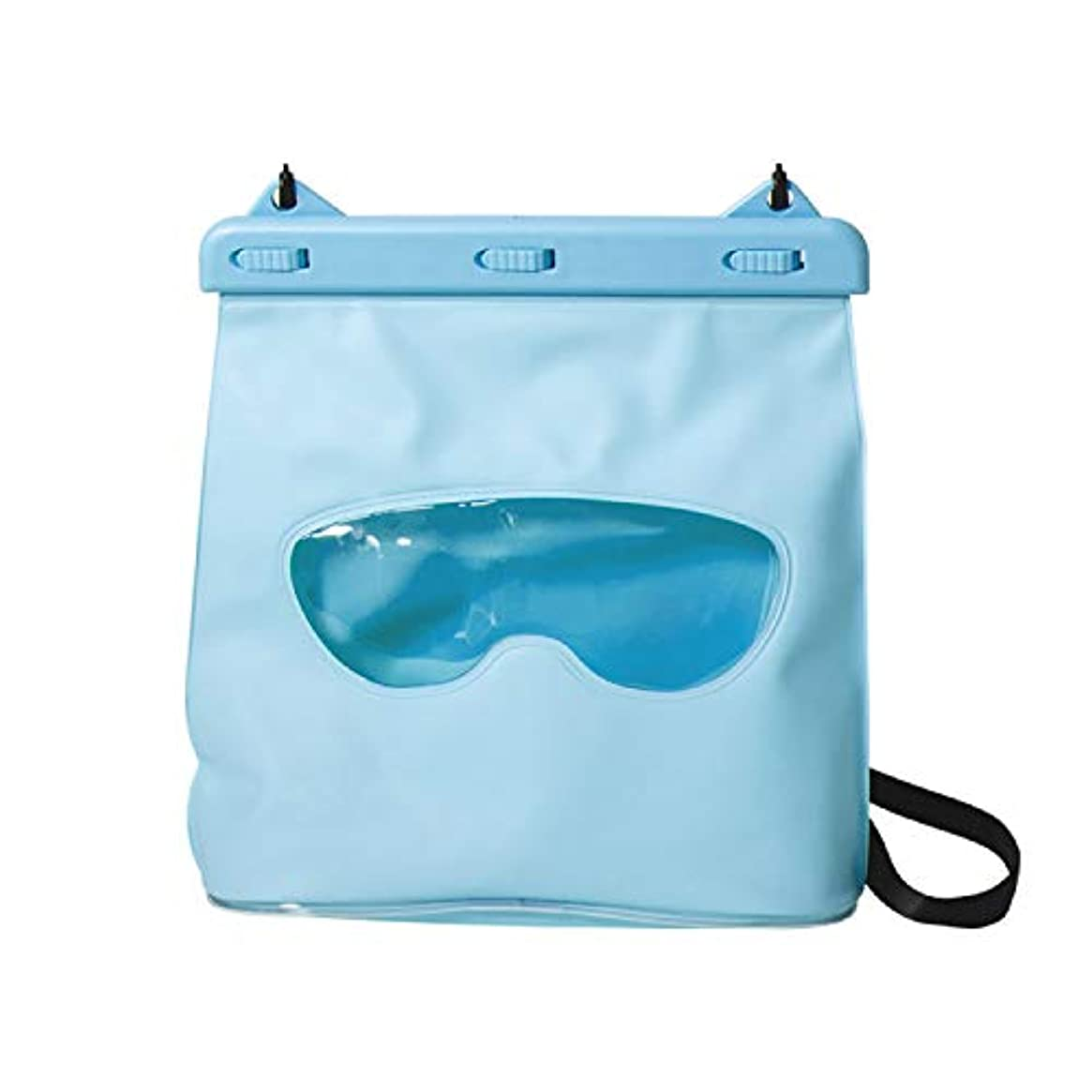 LAQ DESiGN Perspective Waterproof Storage Bag, Dry Bag w/Shoulder Strap for Swimming, Boating, Traveling, Snorkeling, Kayaking, Fishing, Diving, Hiking, Camping