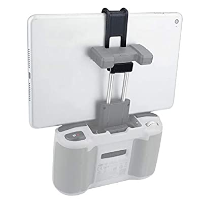 Hensych Quick Release Tablet Holder Adjustable Remote Control Flat Stand Bracket Mount for Mavic Air 2 /Mavic Mini 2 for Tablets Under 7.9 inches