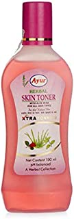 (Pack Of 2) AYUR HERBAL SKIN TONER With Aloe Vera For All Skin Types 100ml New