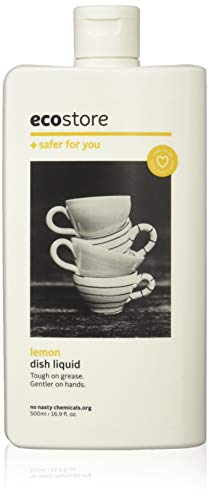 ecostore(エコストア) ディッシュウォッシュリキッド 【レモン】 食器洗い用 洗剤 リキッド・液体 単品 500ml