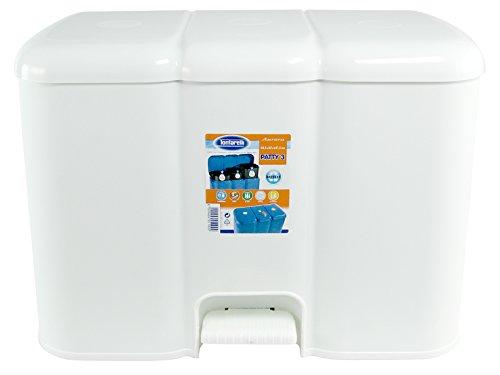 Tontarelli - Cubo de Basura de Reciclaje 'Patty 3'
