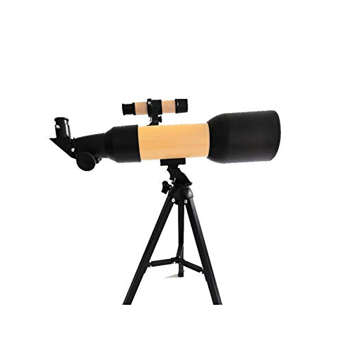 HQQ Astronomical Telescopes, Bird Watching Mirrors, Large Diameter Children's Beginner Telescopes, Full Multi-coated Optics (Color : Yellow)