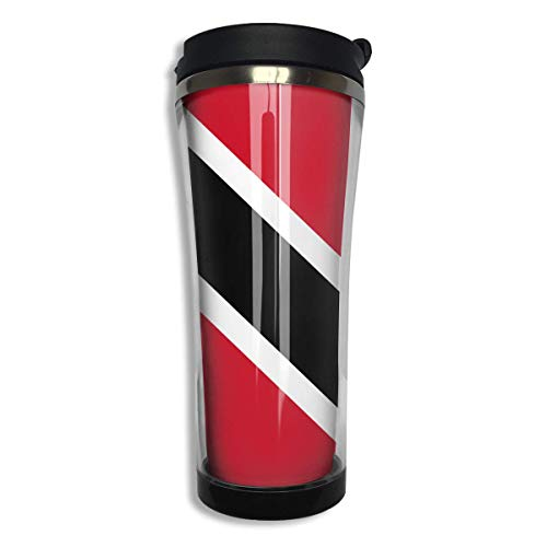 TRINIDAD TOBAGO FLAG COUNTRY Metal License Plate Frame Tag Holder Two Holes