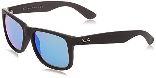 Ray-Ban Unisex-Erwachsene RB4165-622/55-55 Sonnenbrille, Schwarz (Negro), 0