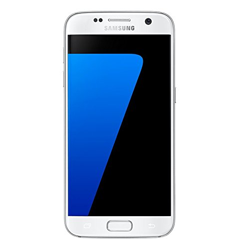 Samsung Galaxy S7, Smartphone Libre (5.1'', 4GB RAM, 32GB, 12MP/Versión Italiana: No Incluye Samsung Pay ni Acceso a promociones Samsung Members), Color Blanco