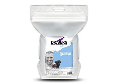 Dr. Berg URFLEISCH Huhn & Kartoffel für Welpen & Junghunde - Getreidefreies, hypoallergenes Hundefutter - Trockenfutter mit viel FRISCHFLEISCH - extra verträglich und lecker durch natürliche Zutaten (10 kg)