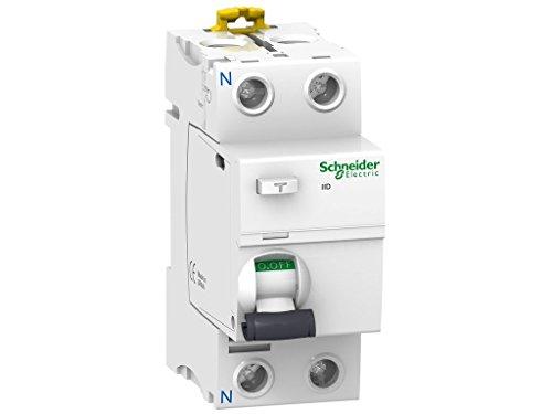 Schneider Electric A9R81263 Interruptor Diferencial iID, 2P, 63A, 30 mA, Clase AC
