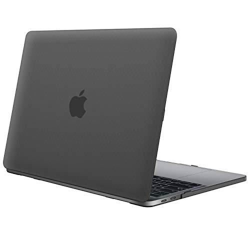 """JETech Funda para MacBook Pro 13"""" 2019/2018/2017/2016 (A2159/A1989/A1706/A1708), Rígida Protecta de la Carcasa, Negro Escarcha"""