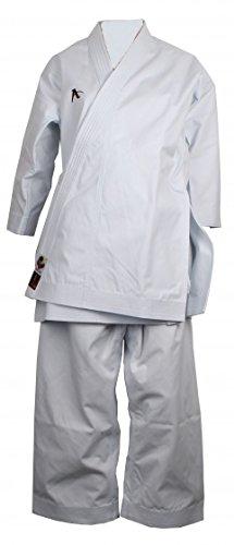 Arawaza Bernstein WKF Karate-Evolution weiß Damen Größe 195