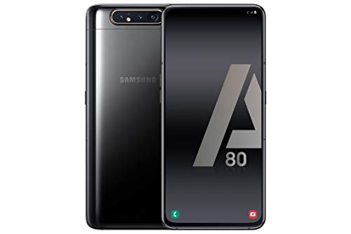 Samsung Galaxy A80 Smartphone de 6.7  FHD+ (Pantalla Infinita, 8 GB RAM, 128 GB ROM, versión española) Negro