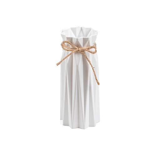 Cratone Blumentopf  einfarbig Blumenvase  kreativer Blumenhalter  Heimdekoration Plastik weiß 18cm*7cm*7.5cm