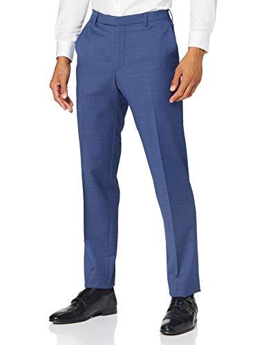 Pierre Cardin Mix & Match Hose Dupont Futureflex Pantalones de Traje, Azul, 33 para Hombre