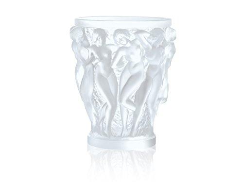 Lalique Bacchantes Vase, transparent