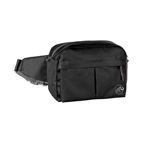Mammut Urban Sac Banane Mixte Adulte, Black, FR Unique (Taille Fabricant : 3.5 L)